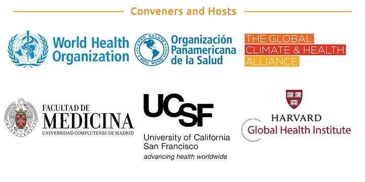 Cumbre Global sobre Clima y Salud / Global Climate and Health Summit image