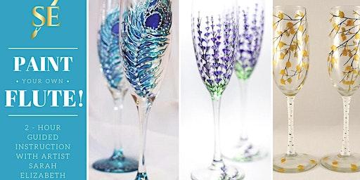 Paint & Sip: Paint Your Own Champagne Flute!