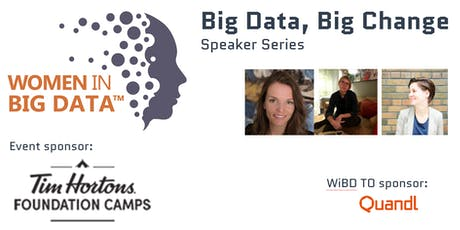 Big Data, Big Change with Tim Hortons and Women in Big Data Toronto tickets