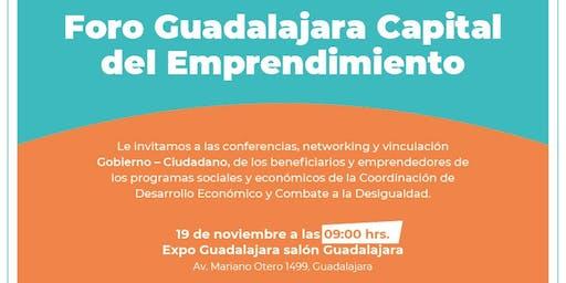 Foro Guadalajara Capital Del Emprendimiento