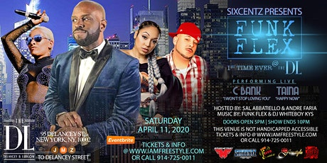 FUNK FLEX-1st time ever @ The DL tickets