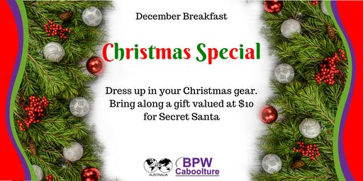 BPW Caboolture presents December Breakfast