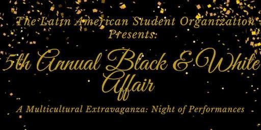 LASO's 5th Annual Black & White Affair