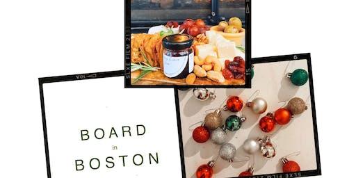 Cheesy Holiday Workshop by @boardinboston