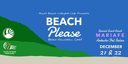 Beach Please: Beach Volleyball Camp with Mariafe!