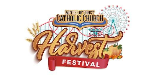 PRESALE 2019 MOC Harvest Festival UNLIMITED WEEKEND WRISTBAND