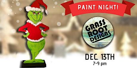 Standing Grinch Figurine | Paint Night! tickets