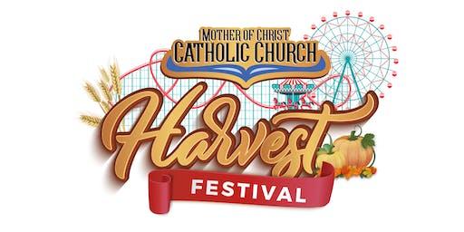 PRESALE 2019 MOC Harvest Festival UNLIMITED THURSDAY WRISTBAND