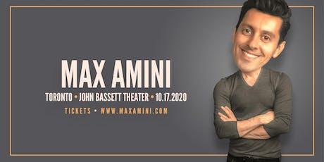 Max Amini Live in Toronto - 2020 World-Tour - ***8:00PM*** tickets