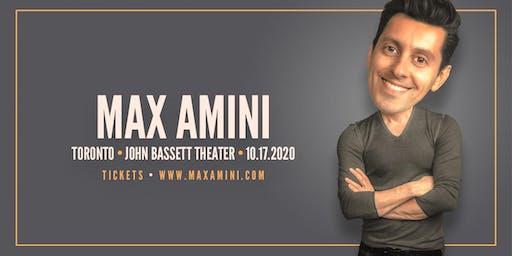 Max Amini Live in Toronto - 2020 World-Tour - ***8:00PM***