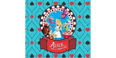 Espetáculo Alice no País das Maravilhas E.M.D.P