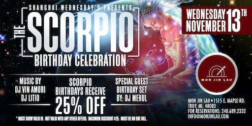 The Scorpio Birthday Celebration at Mon Jin Lau Restaurant*