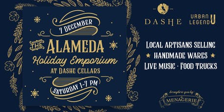Alameda Holiday Emporium at Dashe Cellars tickets