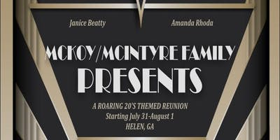 McKoy/McIntryre 2020 Family Reunion
