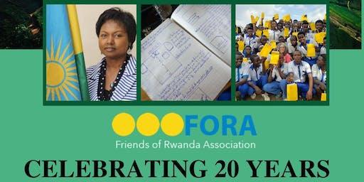 F.O.R.A. Celebrating 20 Years