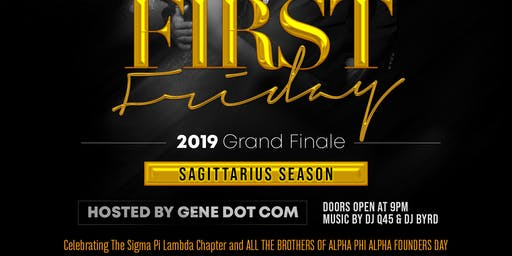 First Friday Alpha Phi Alpha Founders Day Edition