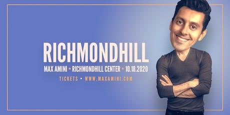 Max Amini Live in Richmondhill - 2020 World-tour **7PM SHOWTIME**   tickets