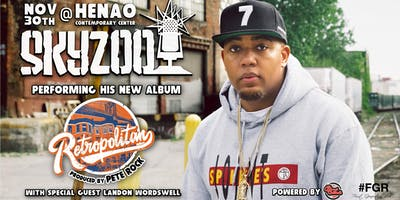 SKYZOO - Performing his New Album RETROPOLITAN