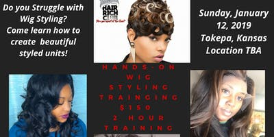 Hands-on Wig Styling Training