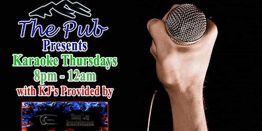 Karaoke Thursday with Third Leg Entertainment