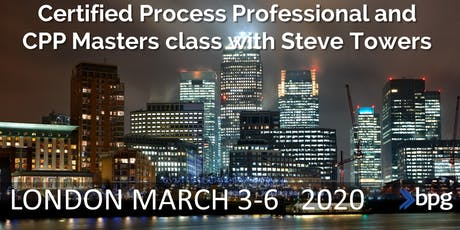 LONDON Spring CPP Masters® BP Group & The Experience Manager tickets