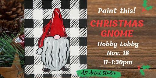 Christmas Gnome at Hobby Lobby