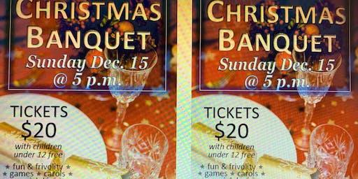 Christmas Banquet - December 15 - tix 250-462-1901