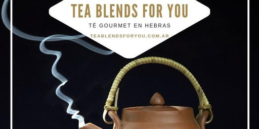 Workshop de Tea Blending TEA BLENDS FOR YOU Marzo 2020
