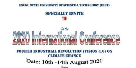 INTERNATIONAL CONFERENCE OF FOURTH INDUSTRIAL REVOLUTION ON CLIMATE CHANGE tickets