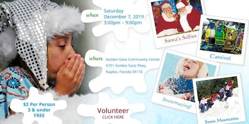Collier County Parks & Recreation Snowfest 2019