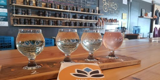 Yoga & Flight or Full Pour at the Hive Taproom
