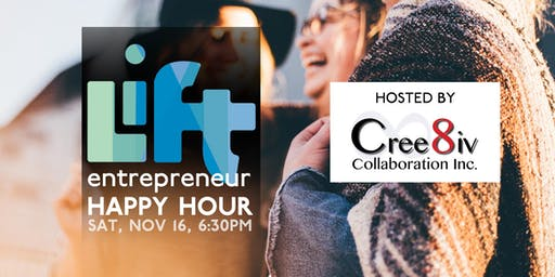 Entrepreneur Happy Hour at Cree8iv Collaboration in Campbell River
