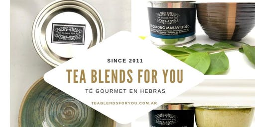 Workshop Emprender en el mundo del Té TEA BLENDS FOR YOU Marzo 2020