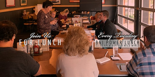 Join Us For Lunch: BNI Power Lunch w/ featured speaker Kayla Pinkston