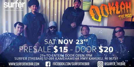 Ooklah The Moc Live at Surfer, The Bar tickets