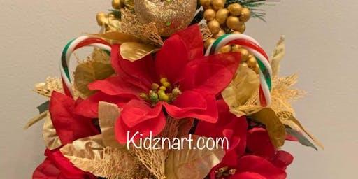 Make a Christmas Floral Arrangement