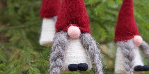 Make your own Tomte Tree Ornament!