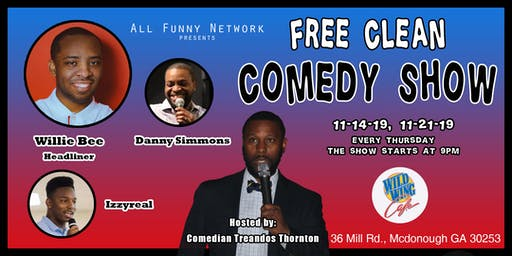 Comedy Show (Wild Wings Cafe)