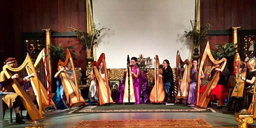 Holiday Harp Concert & Mystic Gift Fair in Geyserville