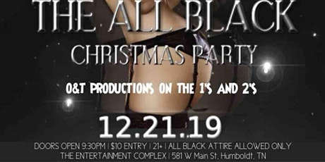 KnoID Presents The All Black Christmas Party  tickets