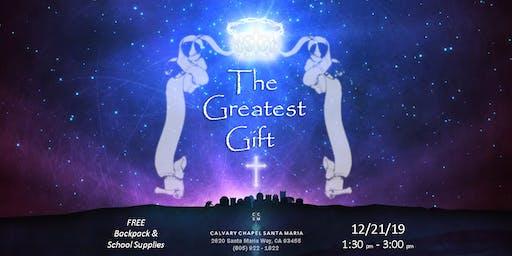 The Greatest Gift: Free Supplies  / El Mejor Regalo: Útiles Gratis