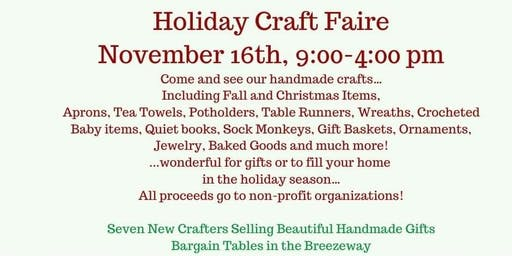 Holiday Craft Fair for a Good Cause