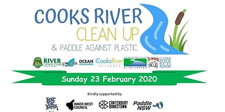 Cooks River Clean Up 2020 (Inc Paddle Against Plastic) tickets