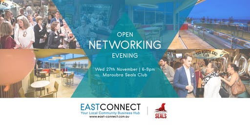 East Connect Open Networking Evening