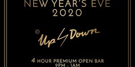 Up & Down New Year's Eve 2020 tickets