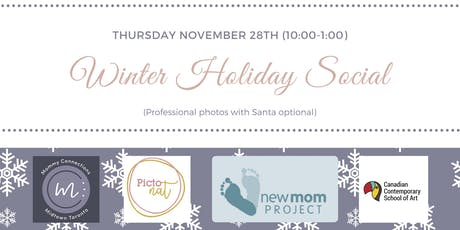 Mommy Connections MTO Winter Holiday Social tickets