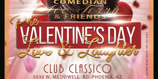 CrownSquadEnt Presents Joe Torry&Friends Pre Valentine Day  Love&Laughter
