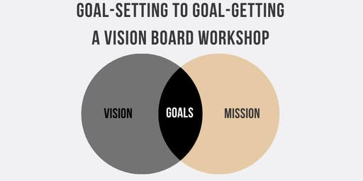 Goal-Setting to Goal-Getting, A Vision Board Workshop