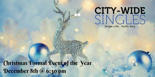 City Wide Singles Annual Christmas Party & Dinner