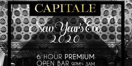 Capitale New Year's Eve 2020 Party tickets